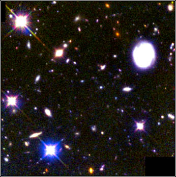 Hubble Deep Field South by NICMOS/STIS/HST