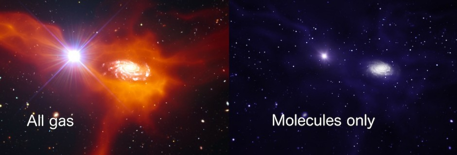 GalaxiesInMolecules
