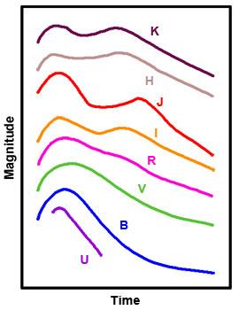 Type Ia supernova light curves | CAS CMS